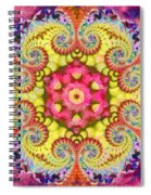 Coral Ecstacy Spiral Notebook