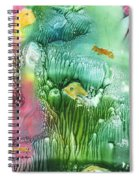 Coral Fishies Spiral Notebook