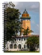 Coral Gables House And Water Tower Spiral Notebook