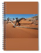 Coral Pink Sand Waves Spiral Notebook