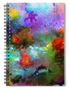 Coral Reef Impression 1 Spiral Notebook