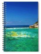 Coral Seas Haiti Spiral Notebook