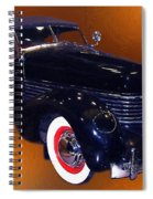 Cord Phaeton 1936 Spiral Notebook