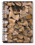 Cord Wood Spiral Notebook