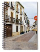 Cordoba Old Town Houses Spiral Notebook