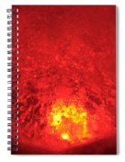 Core Flame Spiral Notebook