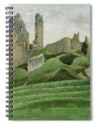 Corfe Castle Spiral Notebook