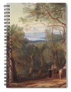 Corfu From Santa Decca Spiral Notebook