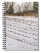 Corn Code Spiral Notebook