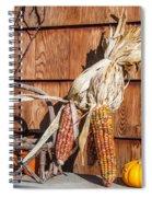 Corn Spiral Notebook
