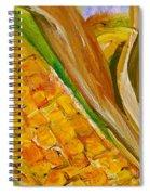 Corn In The Husk Spiral Notebook