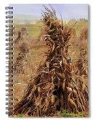 Corn Stalk Bales Spiral Notebook
