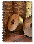 Corn Wheels Spiral Notebook