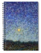 Cornbread Moon Spiral Notebook