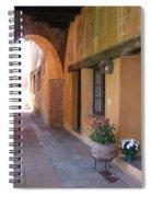 Corner Arch, Mission San Juan Capistrano, California Spiral Notebook