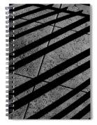 Corner Railing Spiral Notebook