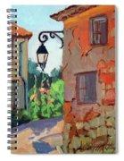 Street Corner In St. Colombe Spiral Notebook