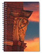 Corner Sunset Spiral Notebook