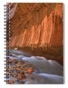 Cornering The Narrows Spiral Notebook