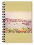 Cornish Harbour Spiral Notebook
