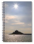 Cornwall - St Michael's Mount Spiral Notebook