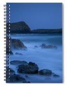 Cornwall Coast Spiral Notebook