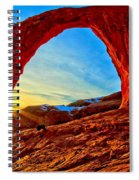 Corona Sun Burst Spiral Notebook