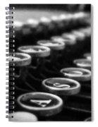Corona Zephyr Keyboard Spiral Notebook