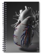 Coronary Vessels Spiral Notebook