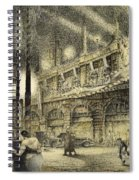 Coronation Evening London 1937 Spiral Notebook