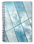 Corporate Flare Reflection Spiral Notebook