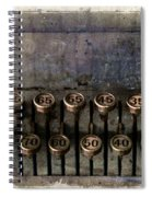 Correct Change Spiral Notebook