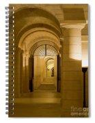 Corridors Spiral Notebook