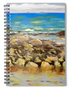 Corrimal Beach Near Towradgi Rook Pool Spiral Notebook