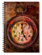 Corroded Time Spiral Notebook