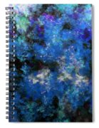 Corrosion Bleue Spiral Notebook