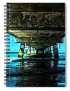 Corrosion Washed Spiral Notebook
