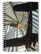 Corsairs In The National Marine Corps Museum In Triangle Virginia Spiral Notebook