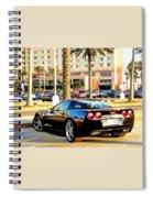 Corvet Spiral Notebook