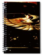 Trans Am Against Red Spiral Notebook
