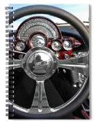 Corvette C1 - In The Driver's Seat Spiral Notebook