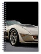 Corvette C3 Spiral Notebook