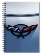 Corvette C5 Badge Spiral Notebook