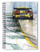 Corvette C6 Spiral Notebook