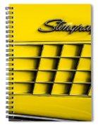 Corvette Gills Spiral Notebook