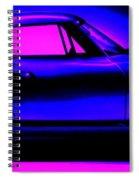 Corvette In Blue Spiral Notebook