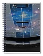 Corvette Is Out Of This World Spiral Notebook