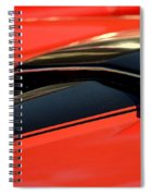 Corvette Torch Spiral Notebook