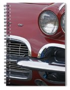 Corvette Spiral Notebook
