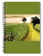 Cosmic Autumn Spiral Notebook